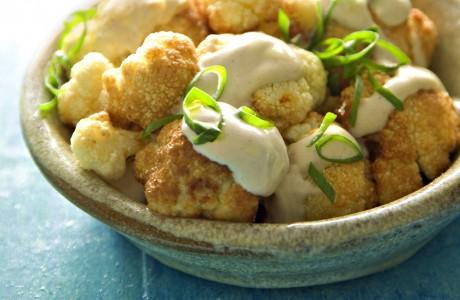 Cauliflower in Tahini Sauce